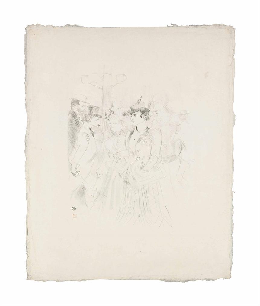 Henri de Toulouse-Lautrec-Promenoir-1899