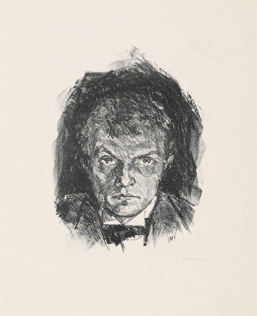 Max Beckmann-Self-Portrait-1911