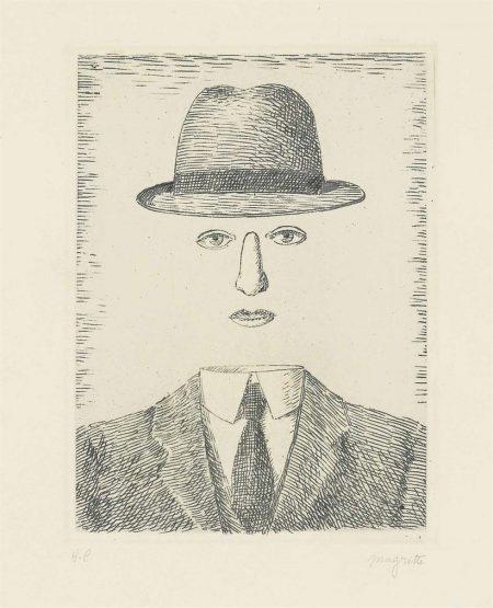 Rene Magritte-Paysage De Baucis-1966