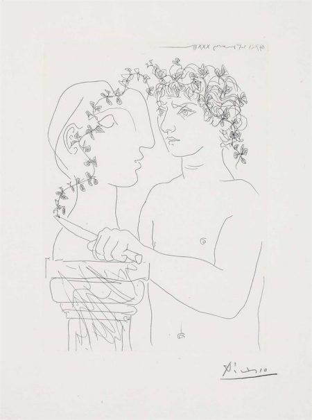 Pablo Picasso-Jeune Scuplteur Au Travail, From: La Suite Vollard-1933