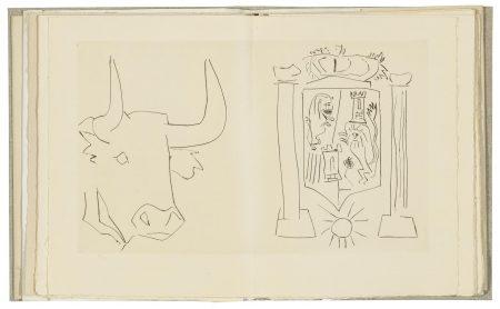 Pablo Picasso-Le Frere Mendiant O Libro Del Conocimiento-1959