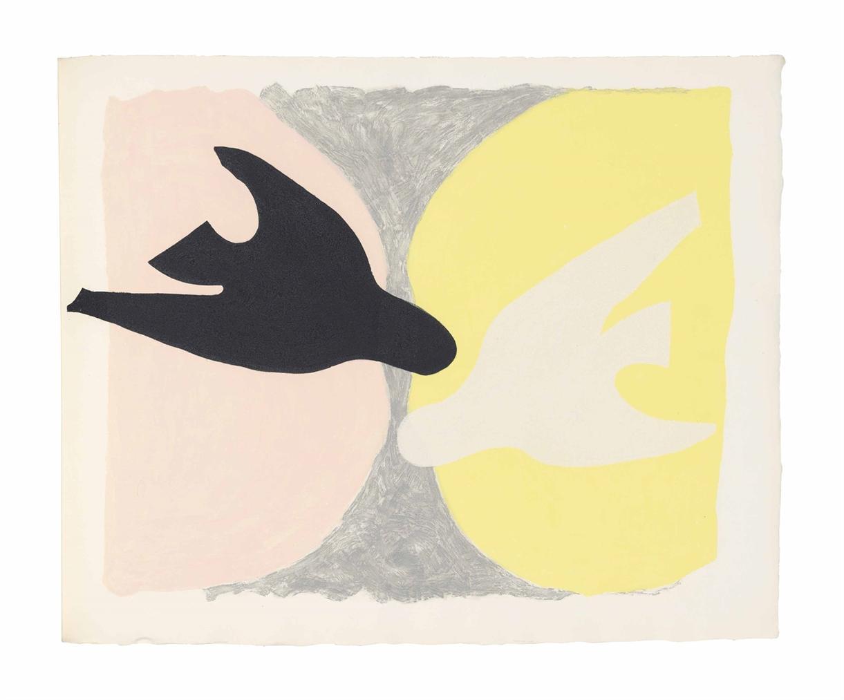 Georges Braque-Saint-John Perse: Lordre Des Oiseaux-1962
