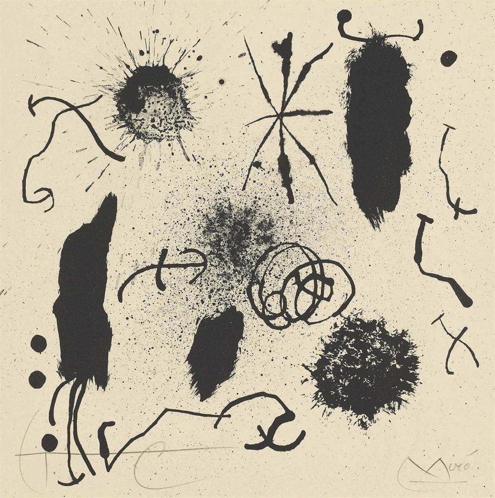 Joan Mir - Je Travaille Comme Un Jardinier-1964