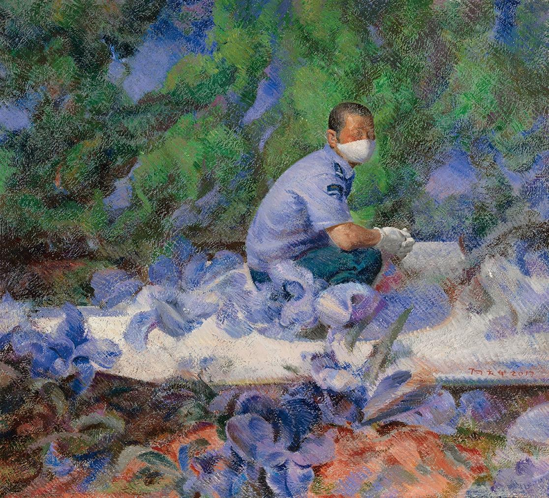 Xiang Qinghua-Untitled-2017