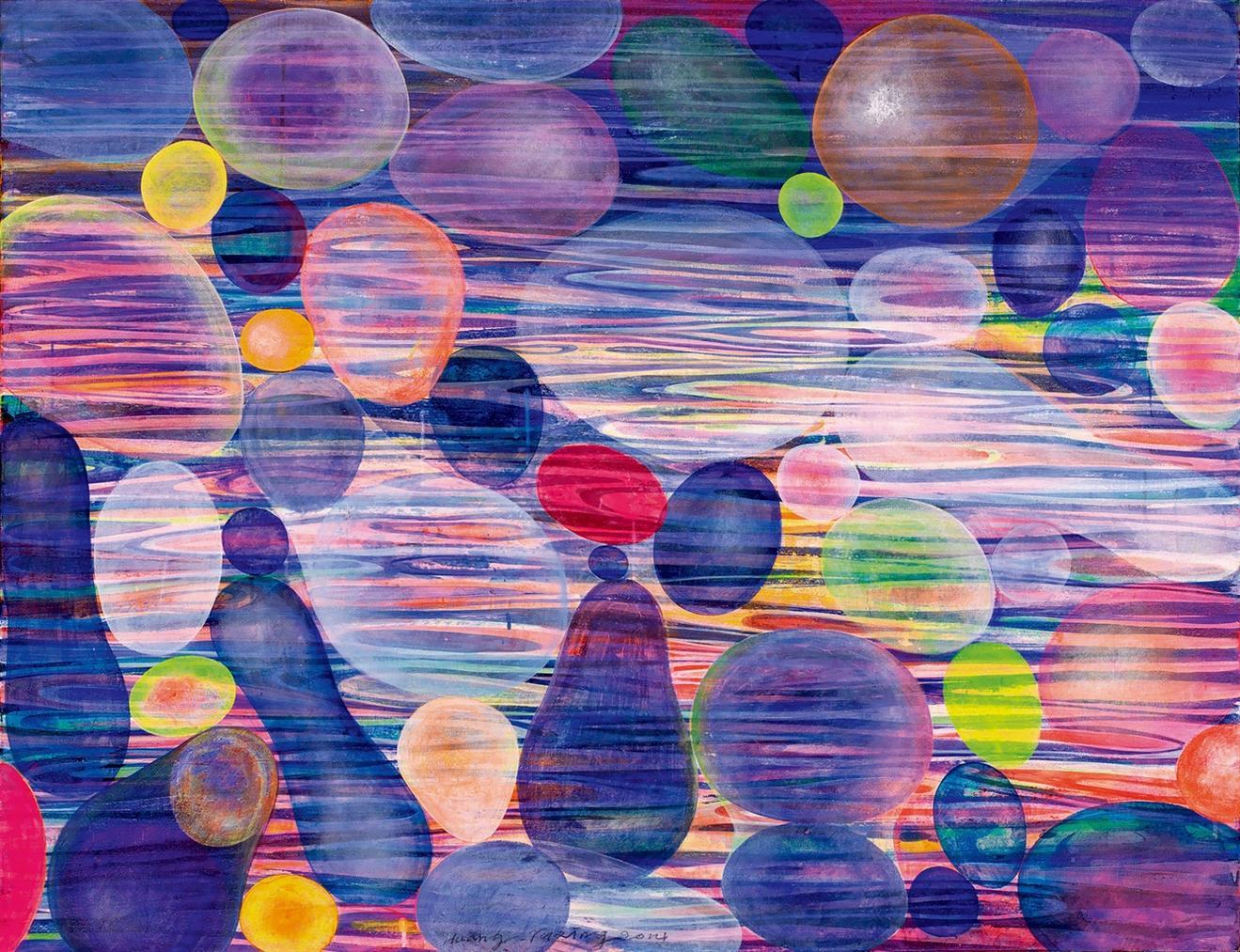 Huang Yuxing-Bubbles-2014