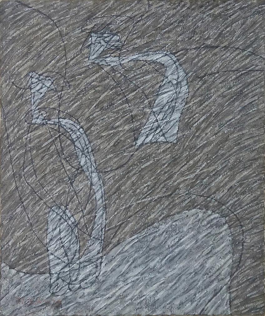 Hwang Yong-Yop-Untitled (Human)-1977