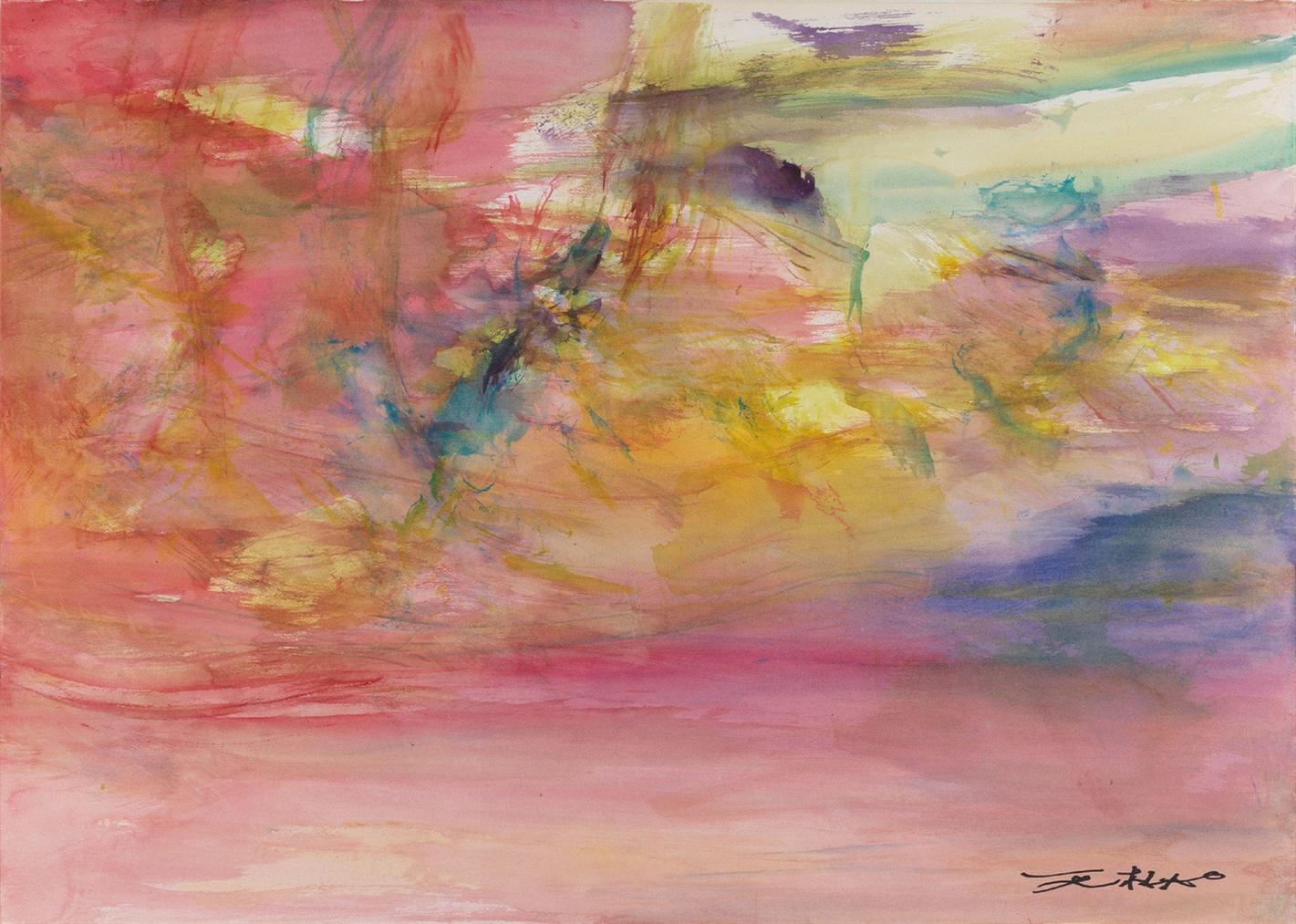 Zao Wou-Ki-Untitled-2008