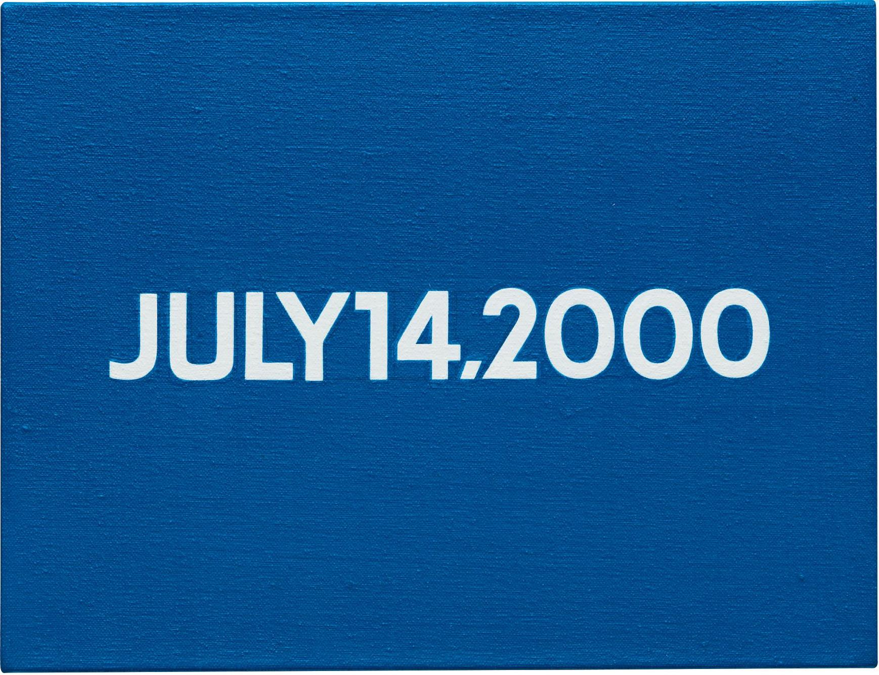 On Kawara-Friday July 14, 2000 (Today Series No. 26)-2000