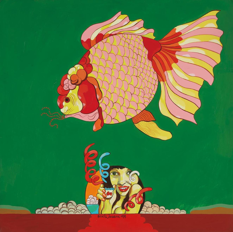 Keiichi Tanaami-Goldfish-1974