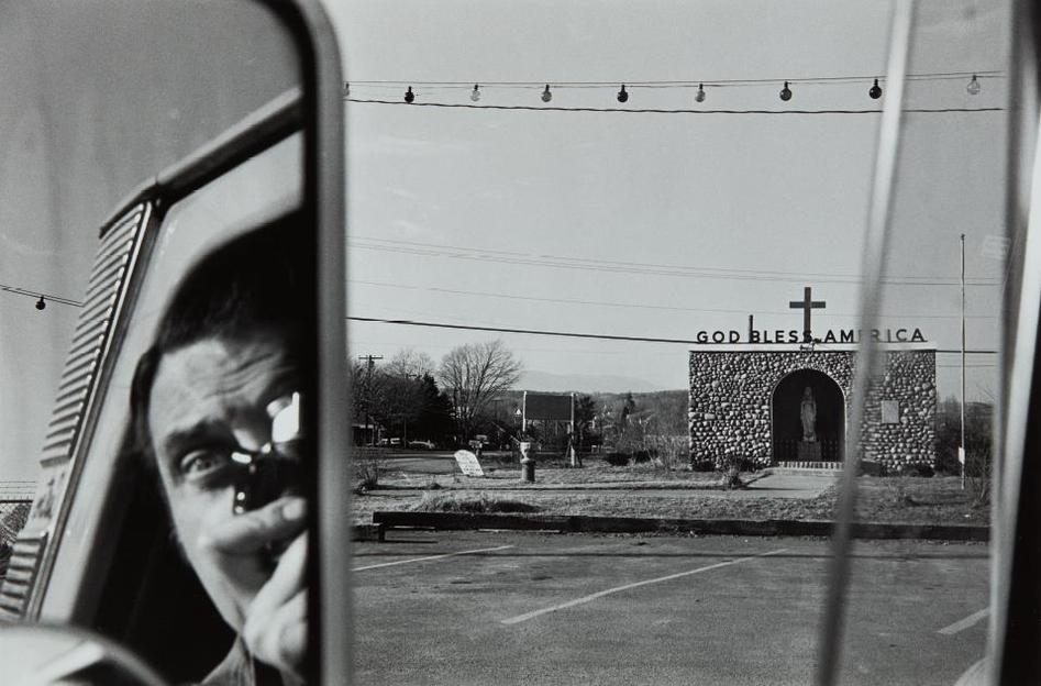 Lee Friedlander-Route 9W, New York-1969