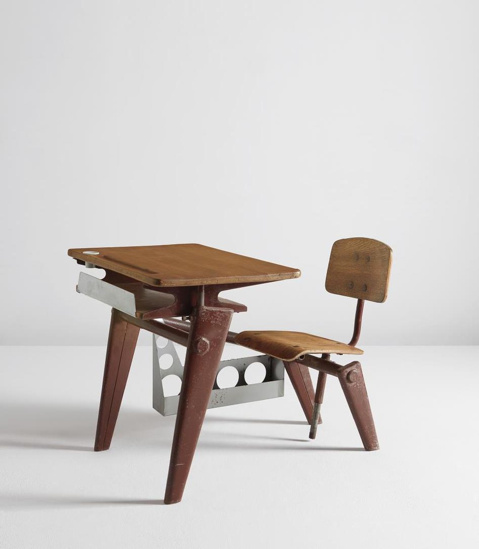 Jean Prouve - School Desk-1950