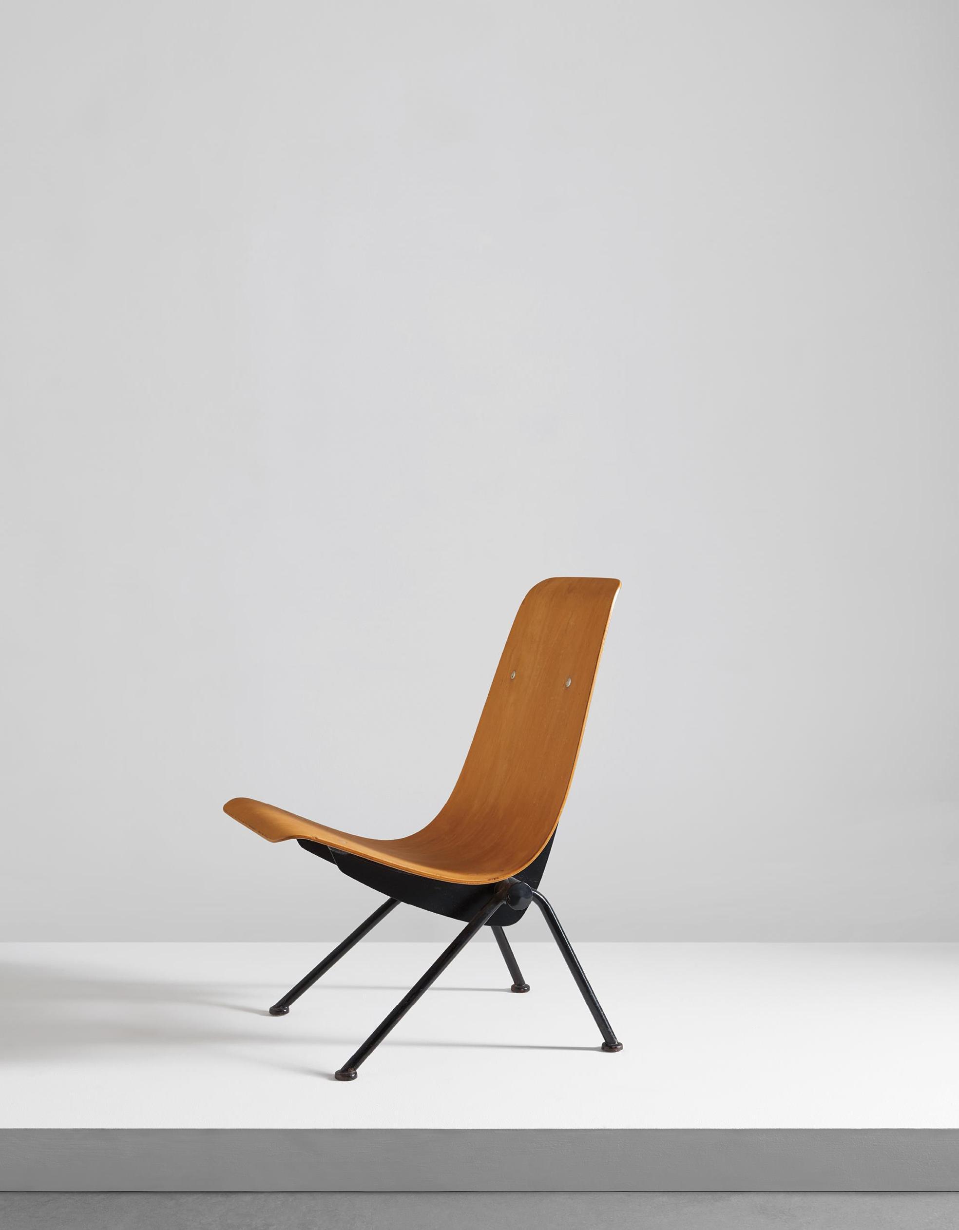Jean Prouve-Antony Chair, Model No. 356-1954