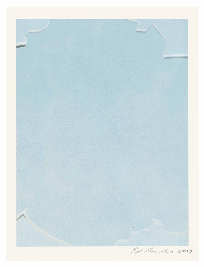 Ed Ruscha-Punched Glass-2007