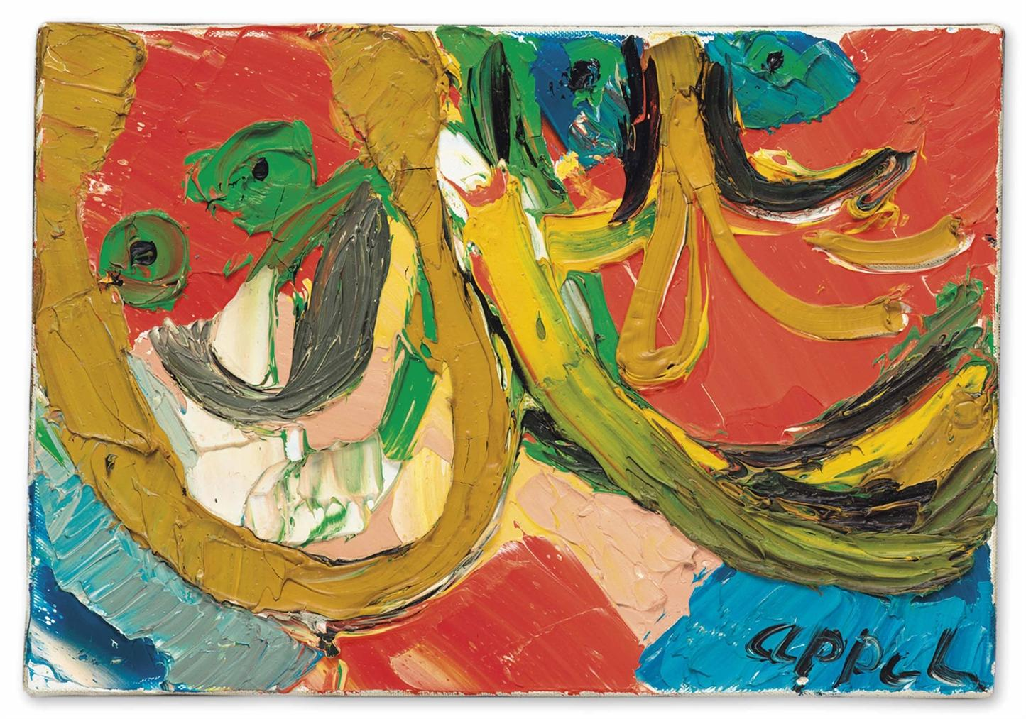 Karel Appel-Untitled-1977