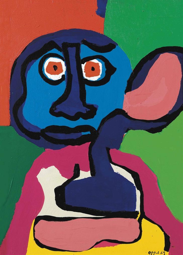 Karel Appel-Untitled-1969
