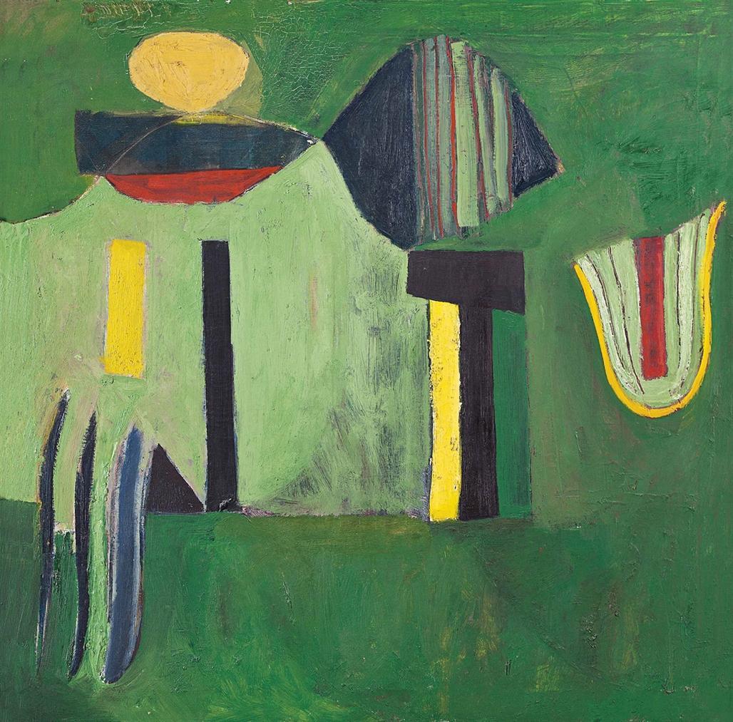 Frank Lobdell-Untitled-1948