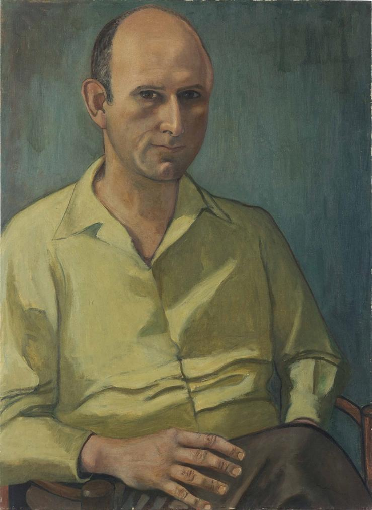 Alice Neel-Untitled (Portrait Of Edward Burns Roensch, Sr.)-1946
