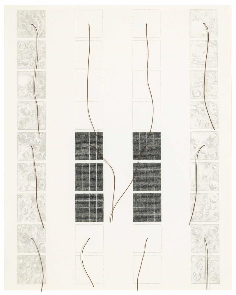 Michelle Stuart-Magnetic Forces-1969