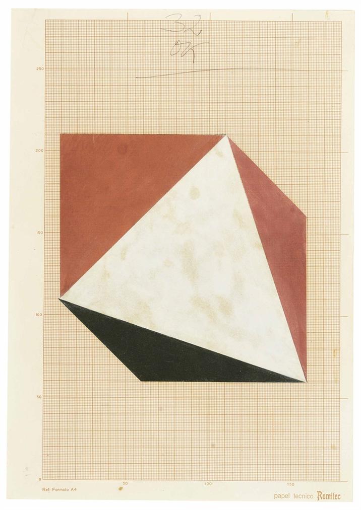 Geraldo De Barros - Estudo-1980