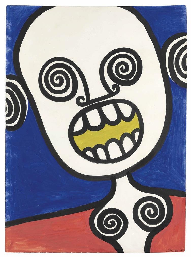 Alexander Calder-Yellow Dentifrice-1944