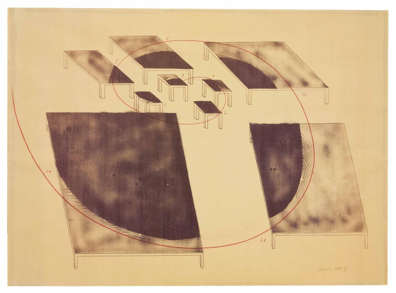Mario Merz-Untitled-1973