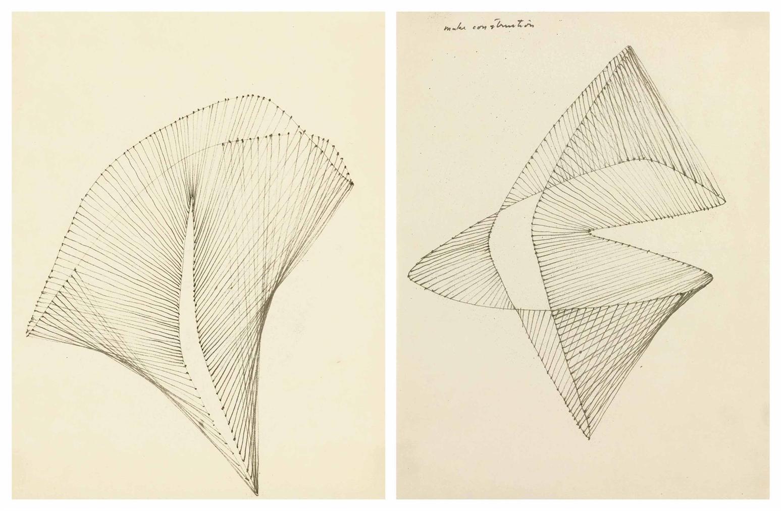 Harry Bertoia-Untitled; Untitled-1940