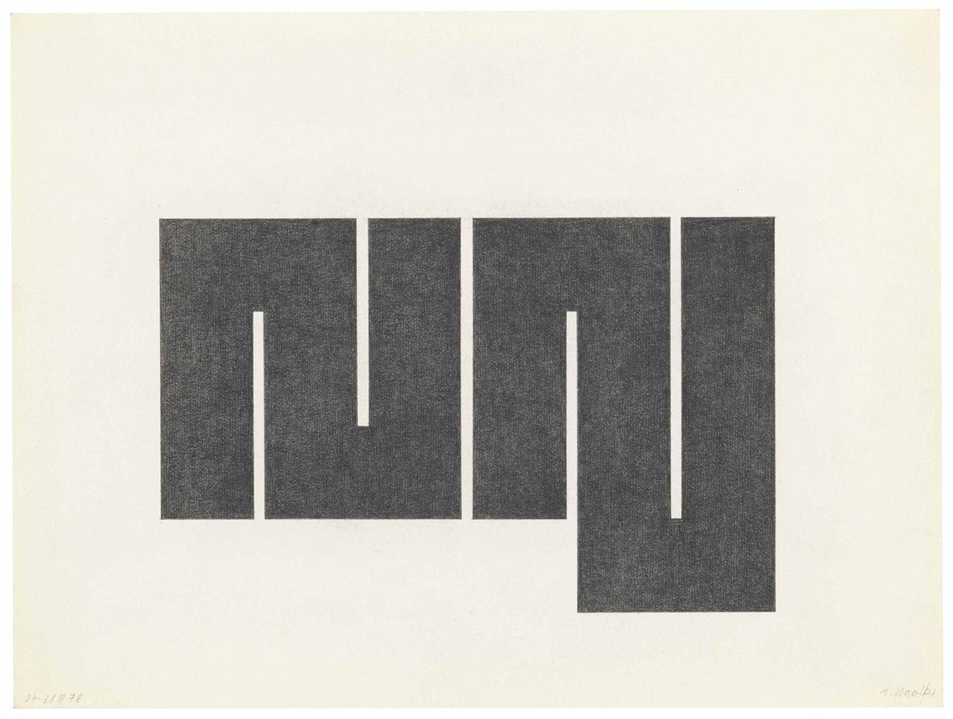 Julije Knifer-24-28. III 78-1978