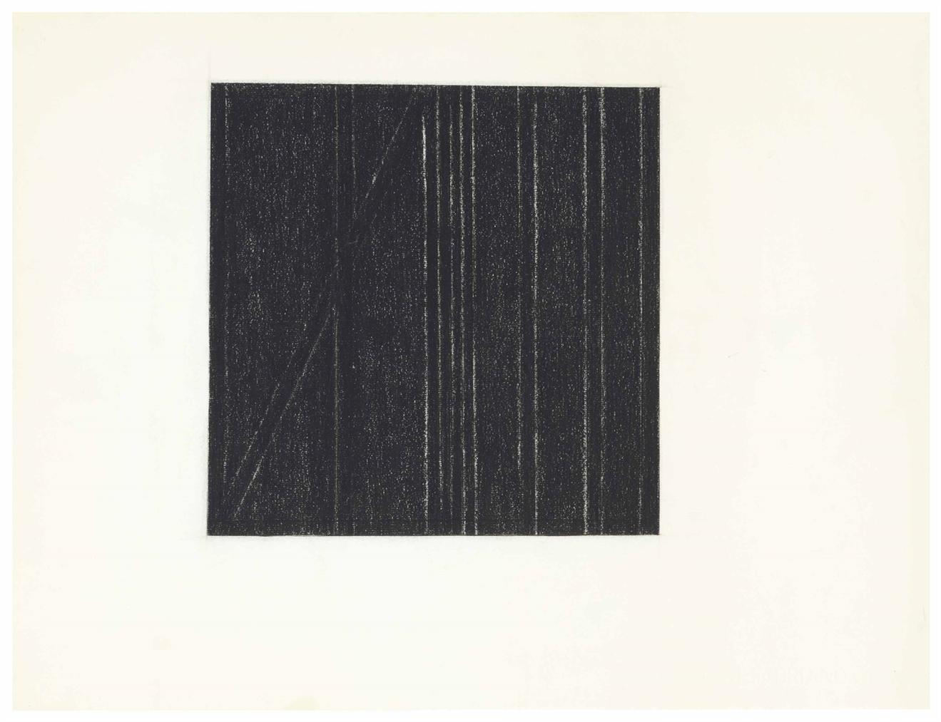Dorothea Rockburne - Tenebrae-1960