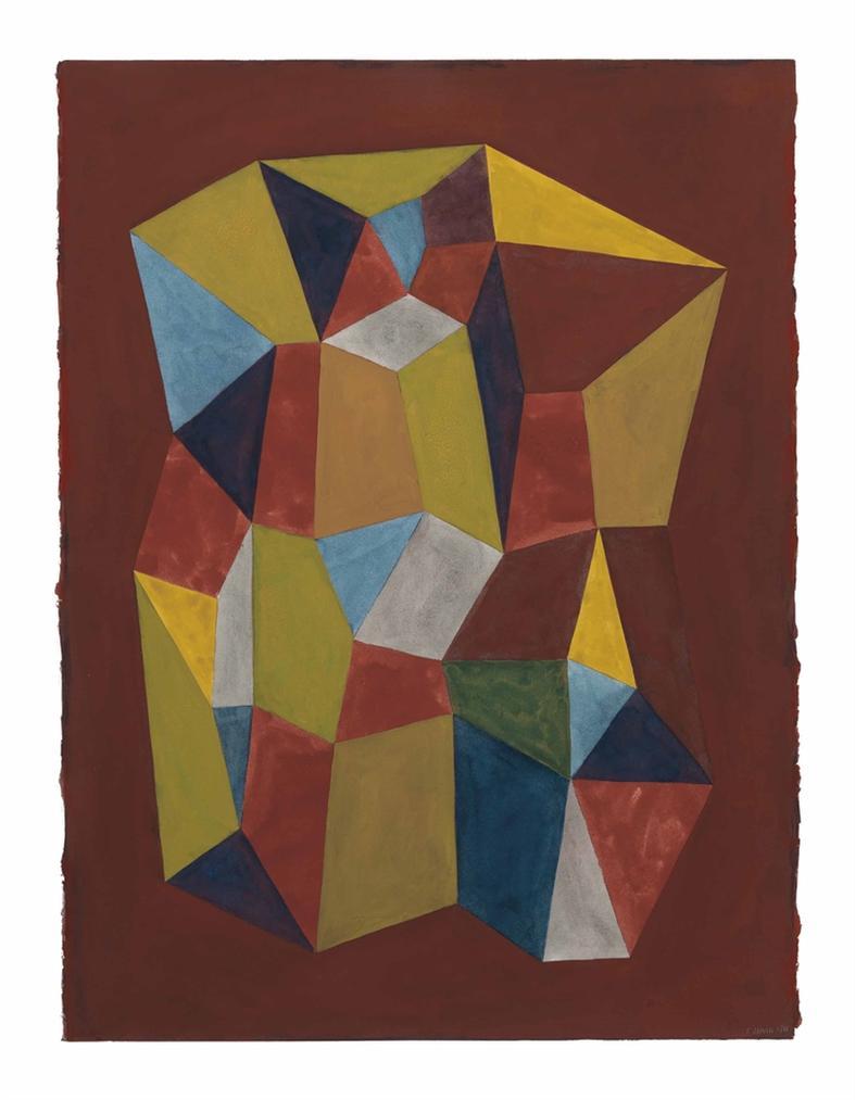 Sol LeWitt-Complex Forms-1988