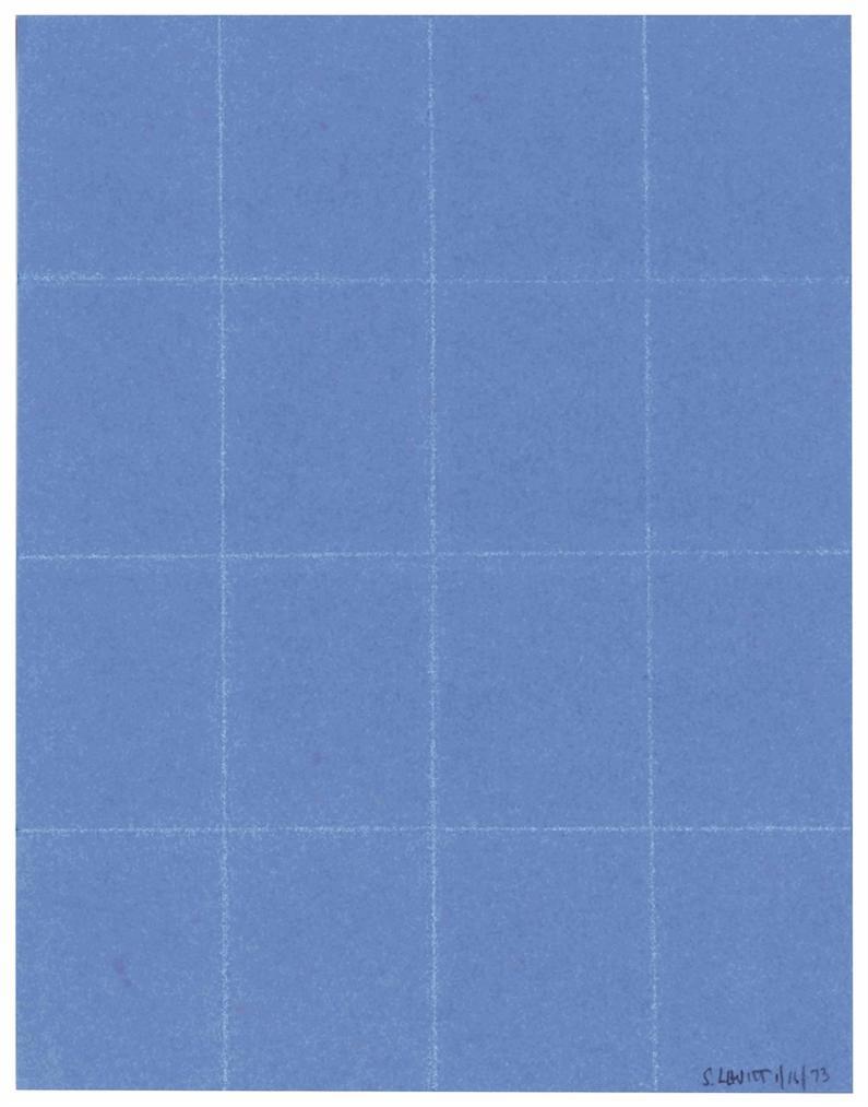 Sol LeWitt-Folded Paper-1973