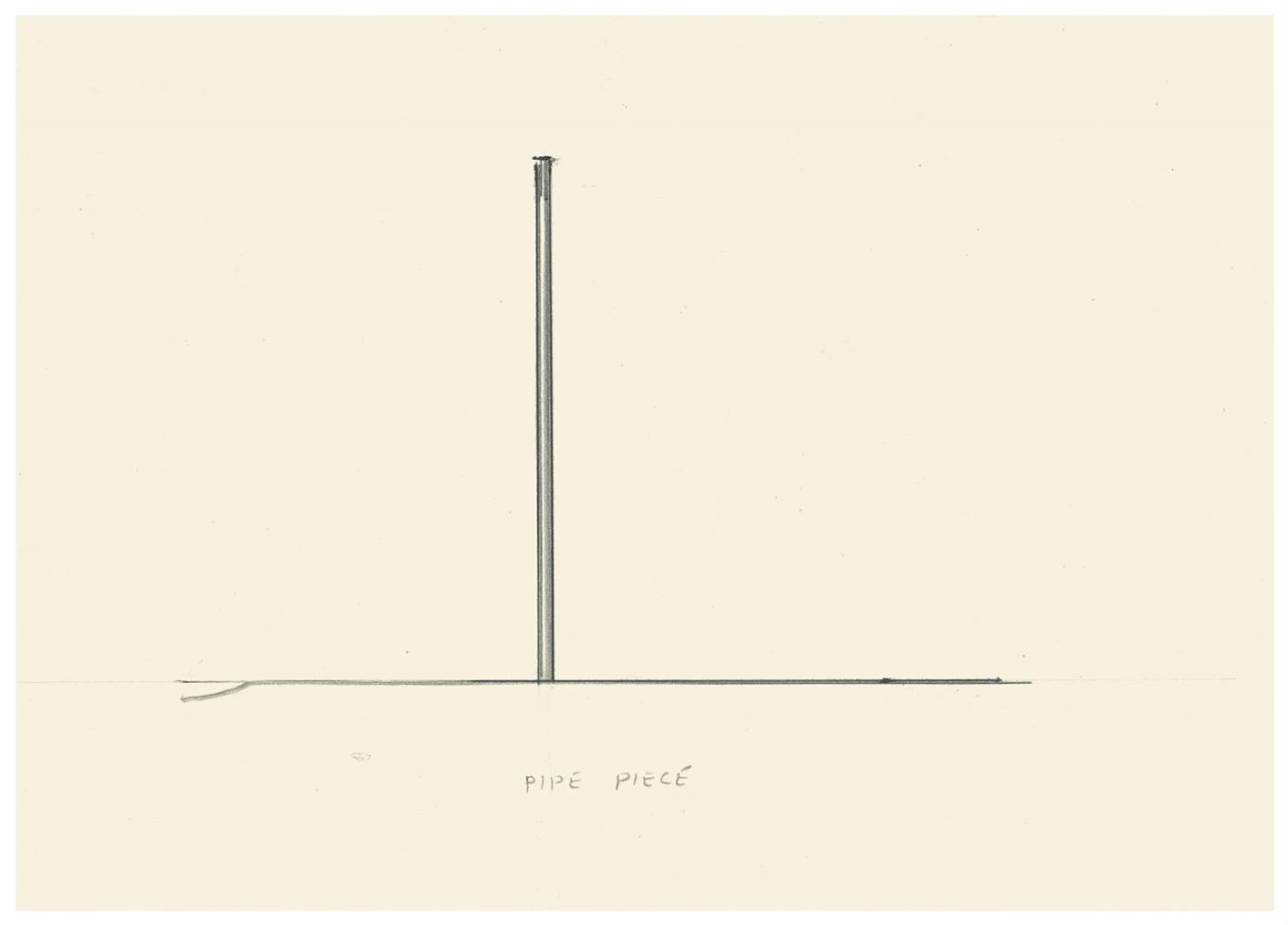 Bill Bollinger-Untitled (Pipe Piece)-1979