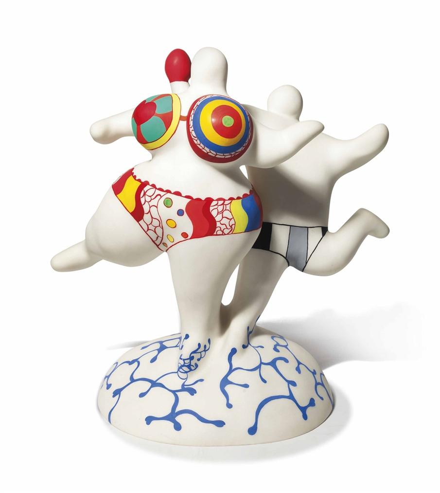 Niki de Saint Phalle-Le Couple-1992