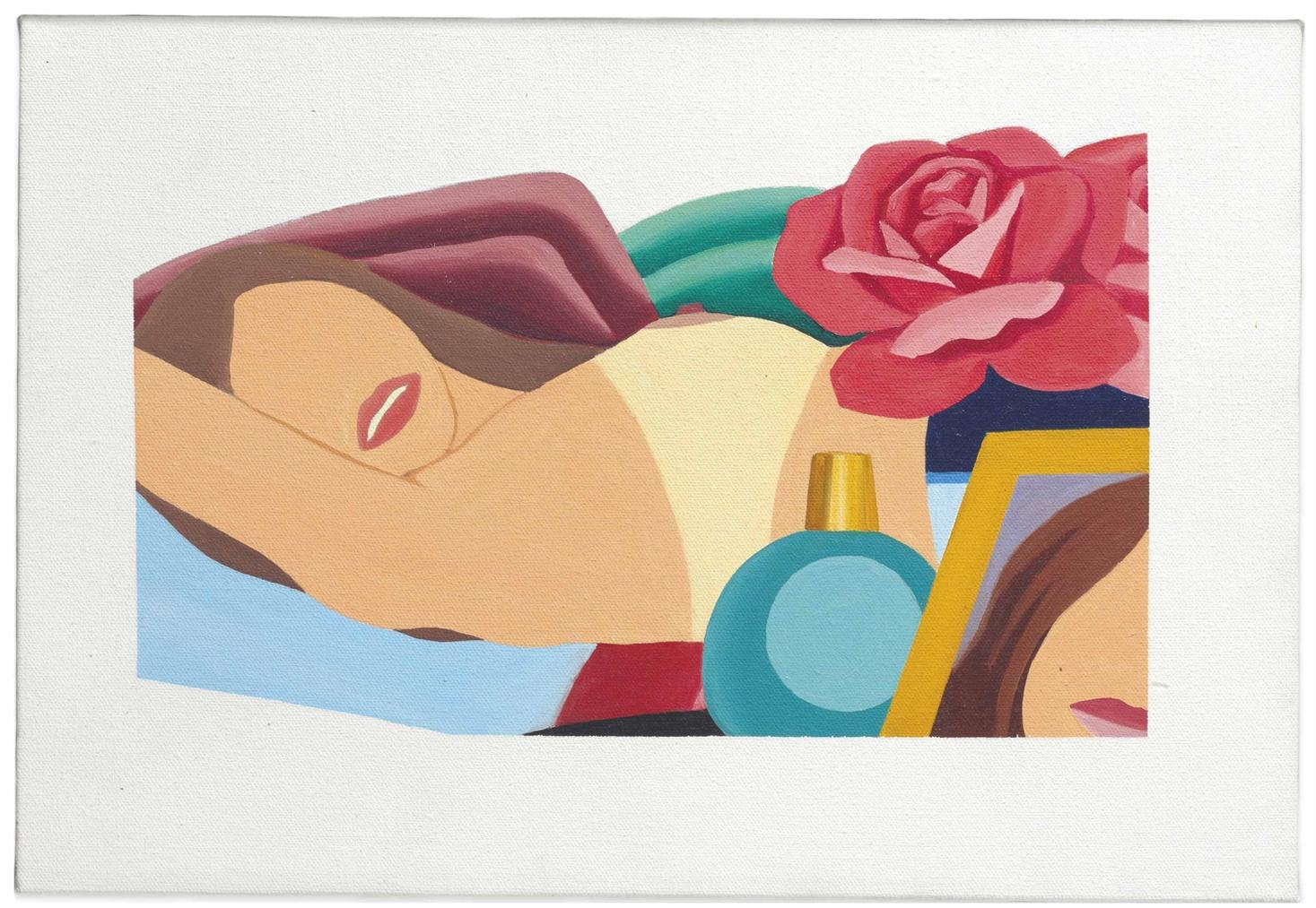 Tom Wesselmann-Study For Nude Lithograph-1976