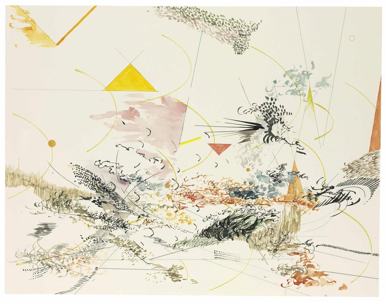 Julie Mehretu-Untitled-2006