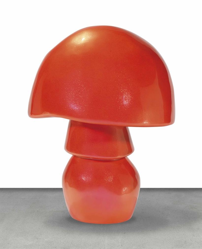 Sylvie Fleury-Mushroom Ug Schwarz Zk Lime Squizer / Gelb Gold Acid-Trip-2011