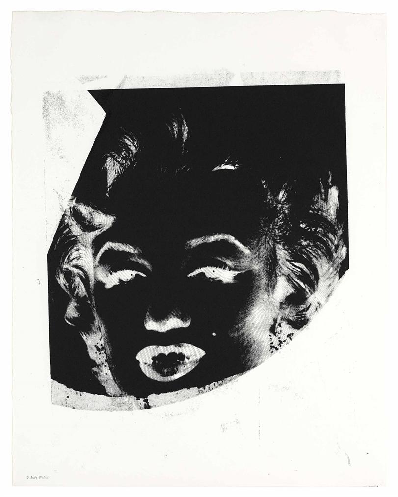 Andy Warhol-Marilyn (Reversal Series)-1978