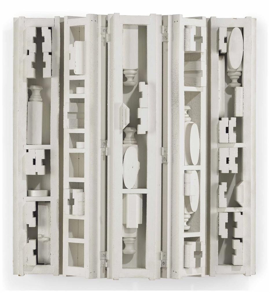Louise Nevelson-Floating Cloud V-1977