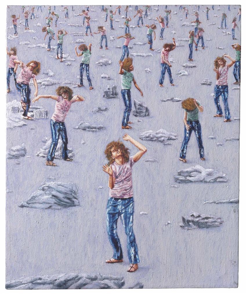 Jim Shaw-Elysian Fields (Utopian Landscape Iii)-1987