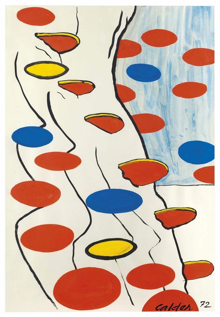 Alexander Calder-Echappee-1972
