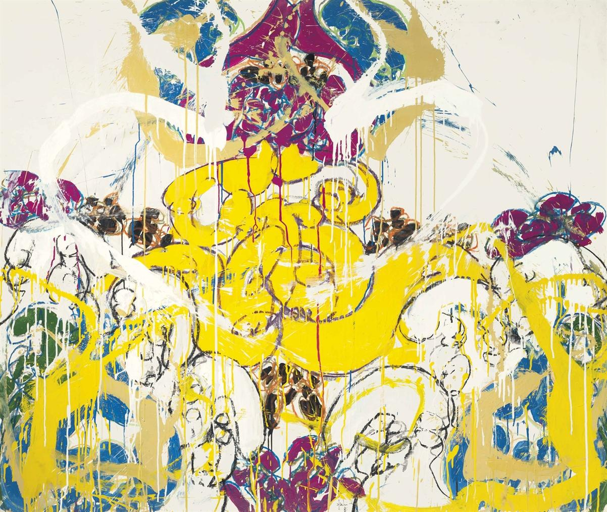 Norman Bluhm-Fresco #3-1987