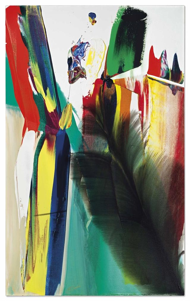 Paul Jenkins-Phenomena Shield The Light-1980