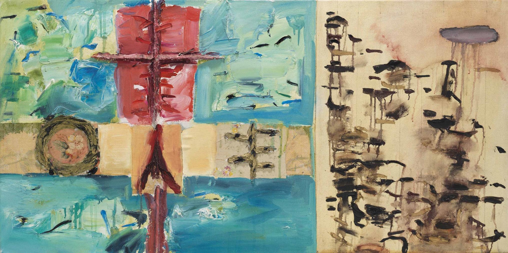 Joan Snyder-D.O.M.M.-1980