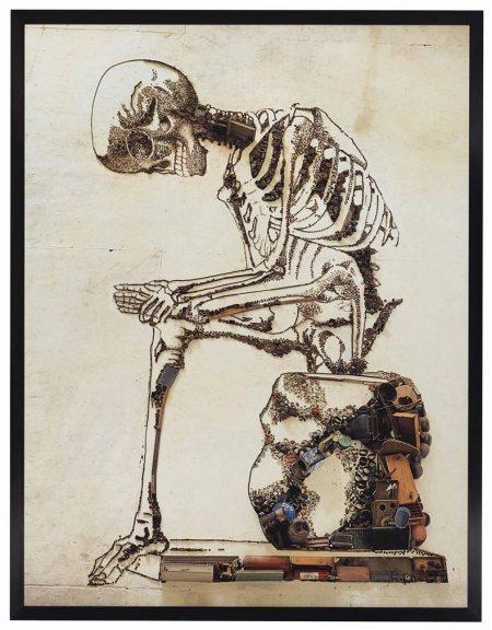 Vik Muniz-Anatomy, After Francesco Bertinatti (Pictures Of Junk)-2009