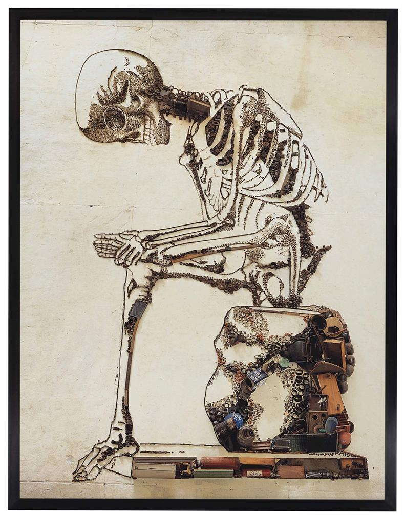 Vik Muniz-Anatomy, After Francesco Bertinatti (Pictures Of Junk)-2009
