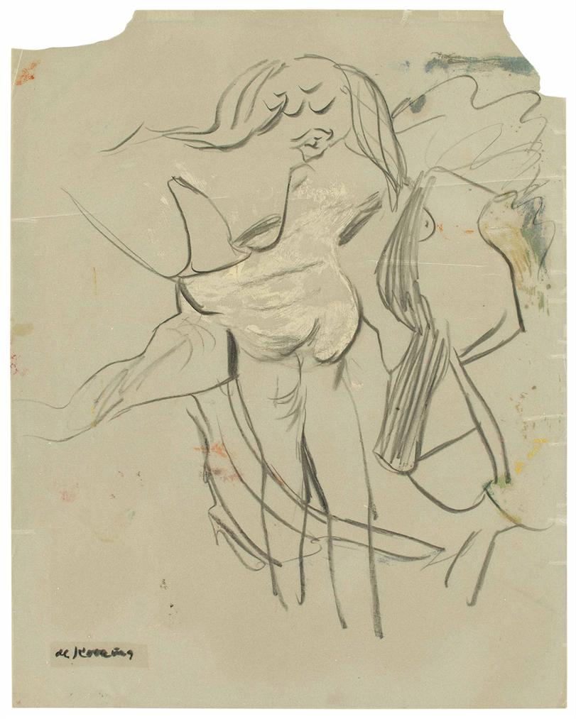 Willem de Kooning-Untitled-1960