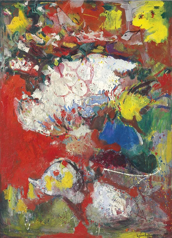 Hans Hofmann-Summer Glory-1944