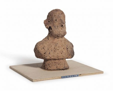 Dieter Roth-P.O.Th.A.A.Vfb (Portrait Of The Artist As A Vogelfutterbuste [Birdseed Bust])-1969