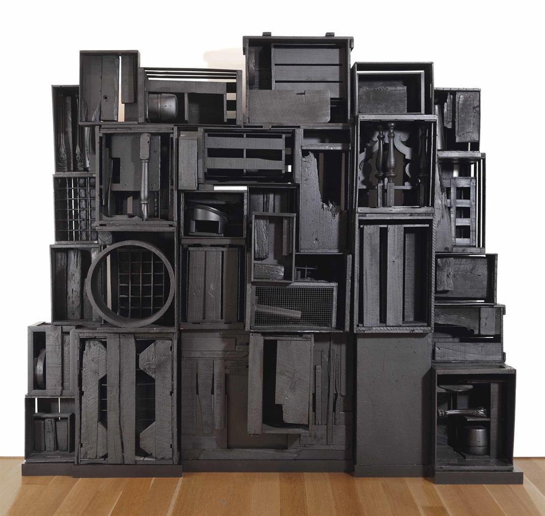 Louise Nevelson-Sky Cathedrals Presence I-1962