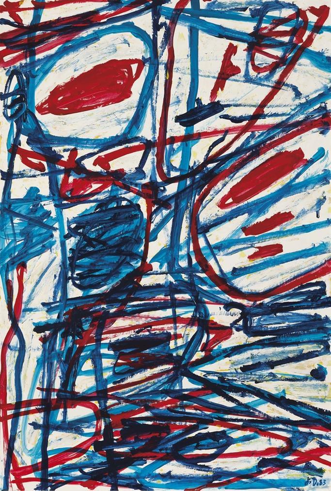 Jean Dubuffet-Mire G 156-1983
