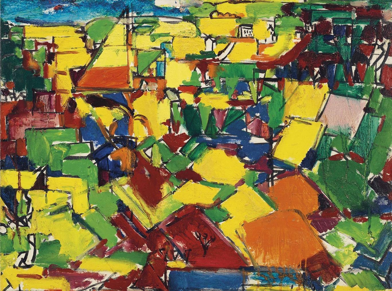 Hans Hofmann-Landscape No. 137-1942